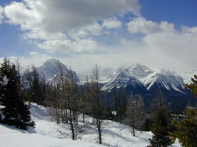 Canadian Rockies near Lake Louise