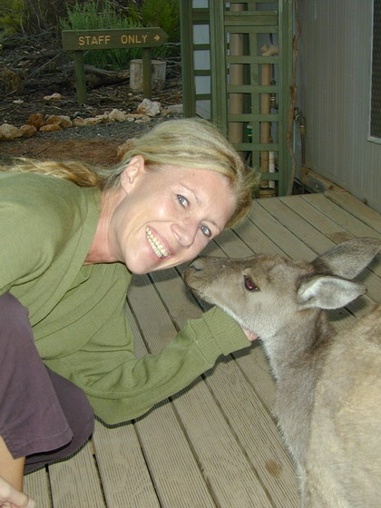 Kristen & Friendly Wallaby